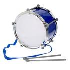 Барабан «Крутой барабанщик», d=20 см, цвета МИКС
