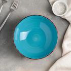 Тарелка глубокая «Яркое море», 540 мл, d=18 см, цвет МИКС - фото 3709862