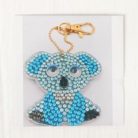 "Diamond embroidery keychain ""Koala"""