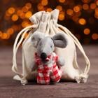 Мешок для подарков «Мышка», виды МИКС