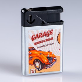"Lighter ""Vintage cars"", gas, piezo"