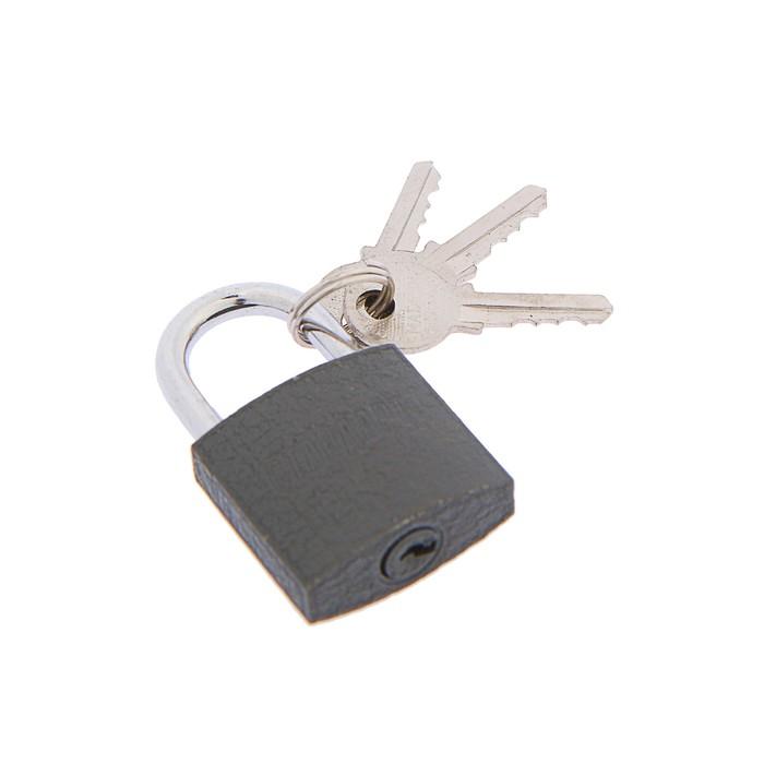 "Замок навесной ""СТАНДАРТ""  d=4.5, 30х27,5 мм, 3 англ ключа"