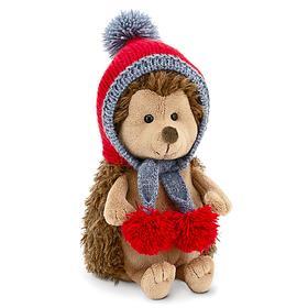 Stuffed Hedgehog Toy: Berry Tea, 20 cm