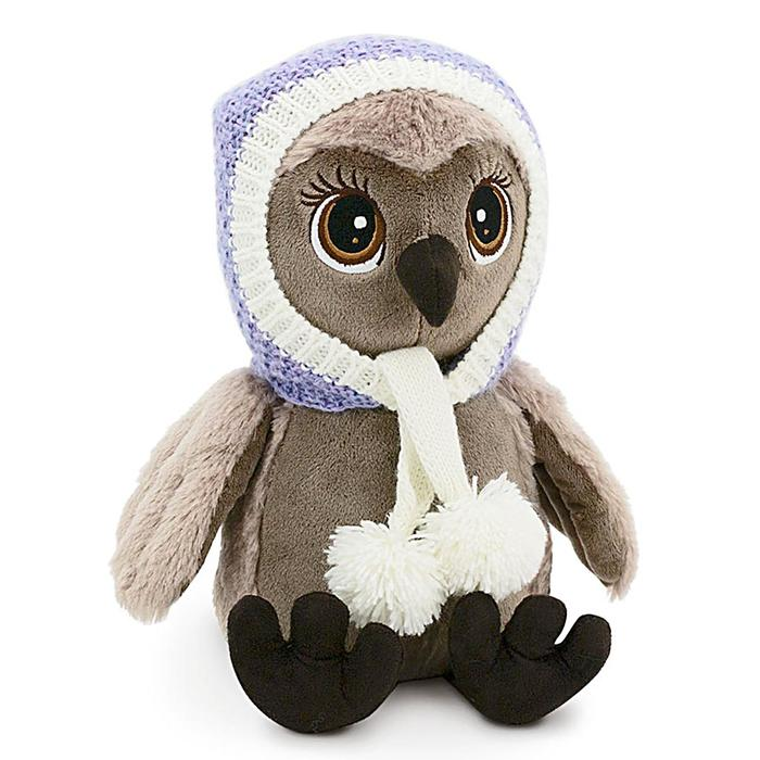 Мягкая игрушка «Сова Соня: Тёплые ушки», 25 см - фото 725169329