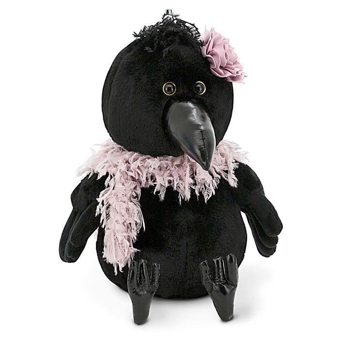 Мягкая игрушка «Ворона Клара: В гламуре», 20 см - фото 4470345