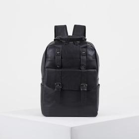 Backpack bag L-6686, 25*12*38, otd zip, 4 n/pockets, breathing back, black
