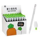 Ручка гелевая-прикол «Морковь», меняет цвет при ультрафиолете