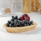 "A fruit basket and bread ""Vanilla""25х19х4 cm"