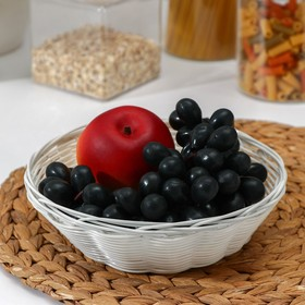 Basket for fruit and bread Milk 18x18x6 cm