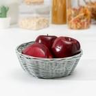 """A fruit basket and bread """"Plough"""" 18х18х6 cm"""