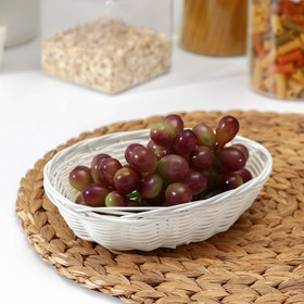 Basket for fruit and bread Milk 18x13x5 cm