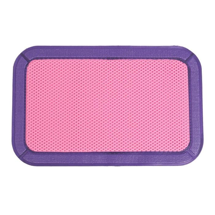 Коврик для пола с окантовкой, цвет МИКС