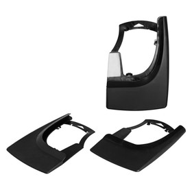 Брызговики универсальные для легковых автомобилей, черные, 2 шт Ош