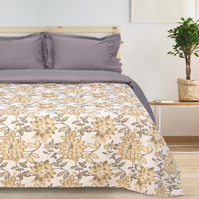 """Bedspread tapestry Ethel """"Luxury"""", beige, 140x200 cm, p/e 80%, CL 20% (450 g/m)"""
