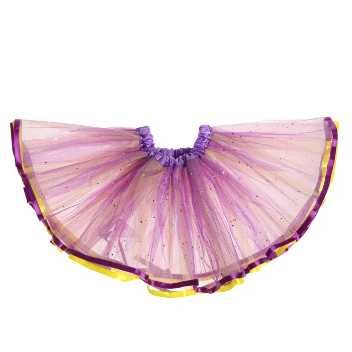 Карнавальная юбка «Блеск», трёхслойная - фото 452234