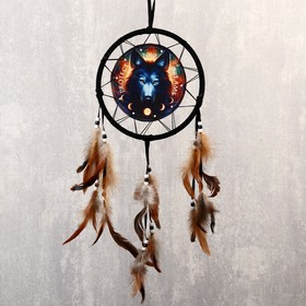 """Ловец снов """"Волк. Защитите свои мечты"""" d=20 см"""