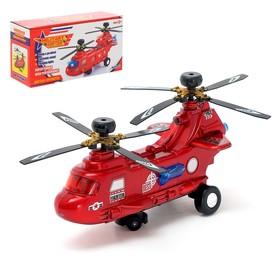 Вертолёт «Пассажирский», работает от батареек, световые и звуковые эффект