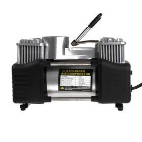 Compressor piston, automotive, bag, 12V, 70 l/min, silver