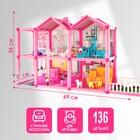 Дом для кукол «Кукольный дом», с мебелью и аксессуарами - фото 105772947
