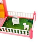 Дом для кукол «Кукольный дом», с мебелью и аксессуарами - фото 105772953