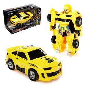 Робот-трансформер «Автобот», световые и звуковые эффекты
