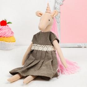 Интерьерная кукла «Волшебная единорожка»