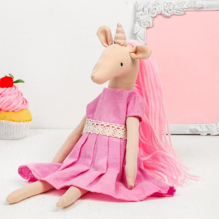 Интерьерная кукла «Радужная единорожка»