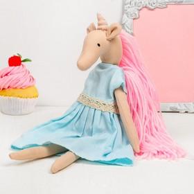 Интерьерная кукла «Чудесная единорожка»