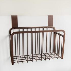 Basket is suspended, 26x13x21.3 cm, color brown