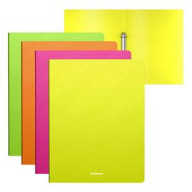 Folder on 2 ErichKrause Diagonal Neon A4 A4 rings 35 mm, assorted 47139