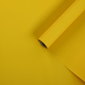 Film pearl, double sided, yellow, 0,5 x 10 m