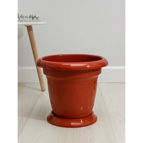 Кашпо 12 л «Тюльпан», цвет МИКС