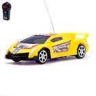 Машина радиоуправляемая «Ламбо», работает от батареек, цвет желтый