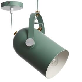 """Светильник """"Альтис"""" 1х60Вт E27 зеленый 15х11,5х25 см."""