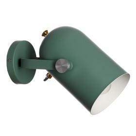 "Бра ""Альтис"" 1х60Вт E27 зеленый 25х15х21 см."
