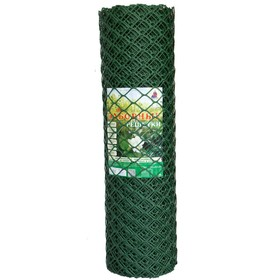 Сетка садовая, 1,9 × 10 м, ячейка ромб 5,5 × 5,8 см, хаки