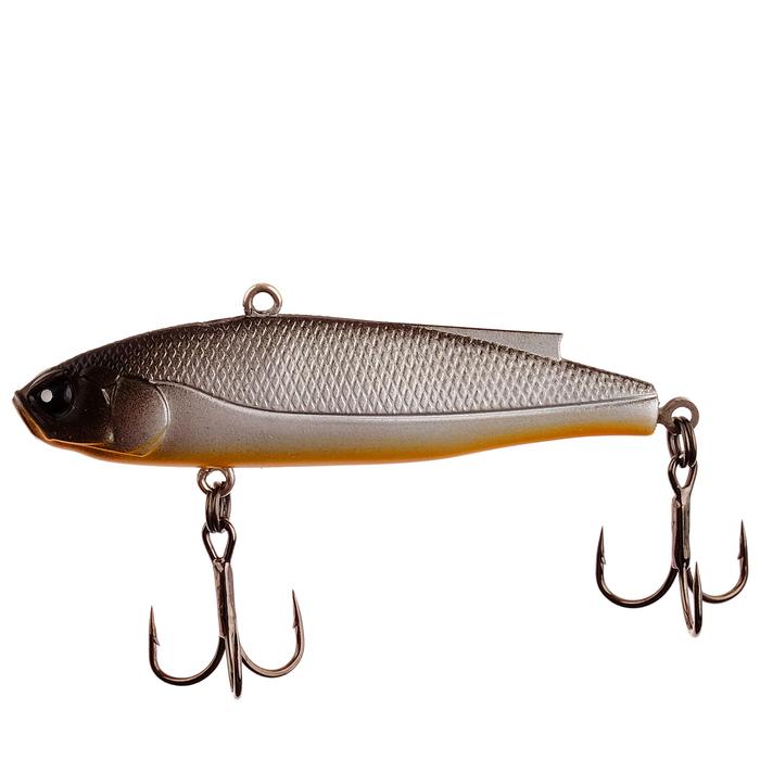 Воблер тонущ. вертикал. Lucky John VIB Soft 6,1 см, 14 гр, цвет 101