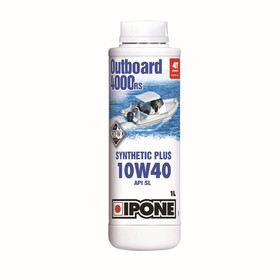 Моторное масло IPONE OUTBOARD 4000 RS, 10W40, 1л