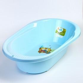 """Ванночка детская """"COOL"""" 82 см., с дизайном """"Bears"""", 42 л., цвет голубой пастельный"""