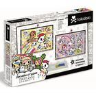 Набор из 2 мини-пазлов 54 элементов «Дизайн-студия. Magical Kingdom» - фото 105596273