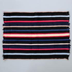 Коврик-половичок малый Доляна, 35×58 см, цвет МИКС