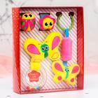 """Набор развивающих игрушек """"Зимние малыши"""": браслетики, подвеска, погремушка - фото 105531901"""