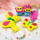 """Набор развивающих игрушек """"Зимние малыши"""": браслетики, подвеска, погремушка - фото 105531902"""