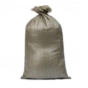 Мешок ПП, 50 × 90 см, на 40 кг, зелёный