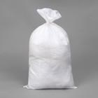 Мешок ПП, 55 × 92 см, на 50 кг, с завязкой, серый