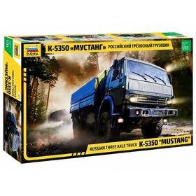 Сборная модель «Российский трехосный грузовик Мустанг»