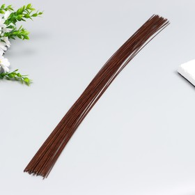 A set of wire for floristry d-1,20mm, 60 cm, 50pcs, brown