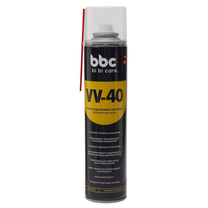 Многоцелевая смазка VV-40 BiBiCare, 400 мл, аэрозоль