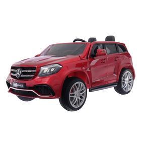 Электромобиль MERCEDES-BENZ GLS AMG, 4WD полный привод, цвет красный глянец, EVA (царапины)