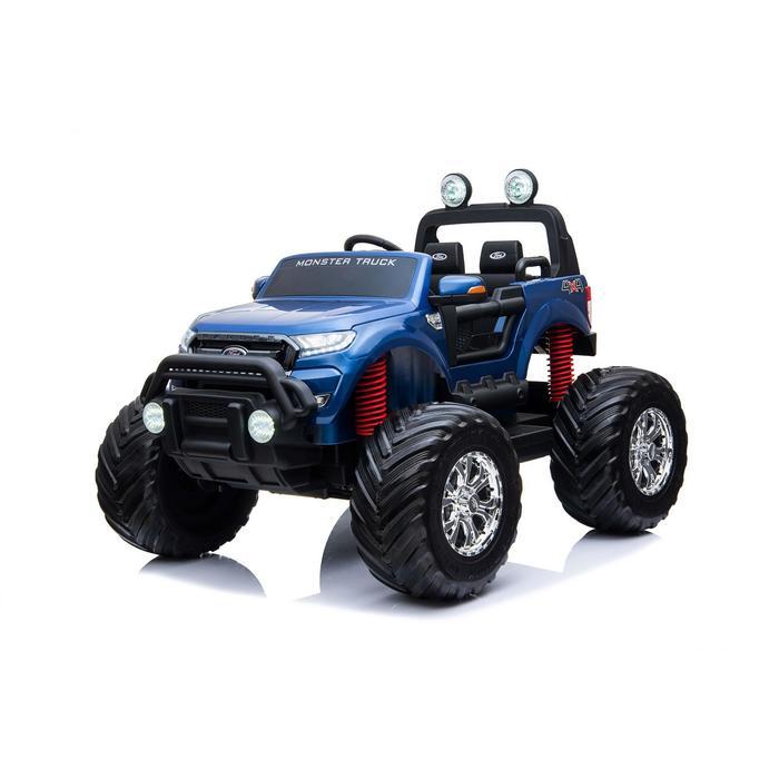 Уценка Электромобиль FORD RANGER, 4WD полный привод, глянец синий, EVA, монитор (царапины)